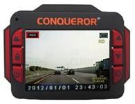 征服者CVR-G270迷你行车影像记录仪 采用120度广角摄影镜头