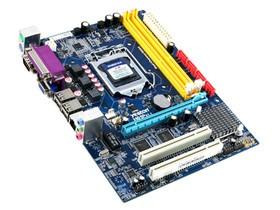盈通H61P ATX板型;1条PCI-E X16,2条PCI插槽;VGA接口;1个4针,1个24针电源接口