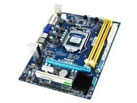 盈通B75S战神版 2条内存插槽;1条PCI-E X16,1条PCI-E X1,1条PCI插槽;3个SATA II,1个SATA III接口;2个USB2.0,2个USB3.0背部接口;DVI/VGA接口