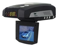 征服者1680H GPS雷达行车影像记录器 内置GPS自动取得GPS时间并更新时间(RTC),记录车速,行车轨迹..