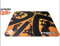 SteelSeries赛睿 QcK+ Ehome战队限量版鼠标垫 高质量超稳定顺滑