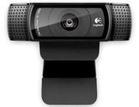罗技 C920全高清摄像头双立体声内置麦克风卡尔蔡司镜头