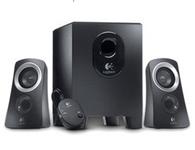 罗技 Z313 音箱系统 电脑音箱 强劲低音效果 附控制台