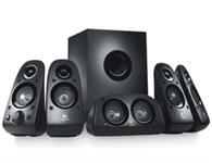 罗技 Z506环绕声音响 5.1声道 环绕立体声音箱 震撼音效