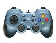 罗技 F510 USB振动电脑游戏手柄 双振动反馈技术 可编程