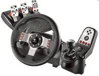 罗技G27赛车游戏方向盘双引擎力反馈六档