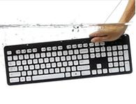 罗技 K310直接水洗有线防水USB电脑键盘