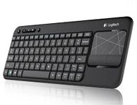 罗技K400多媒体无线触控键盘 3.5寸触控板
