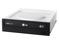 LG GH24NS50 光驱类型:DVD刻录机 安装方式:内置(台式机光驱) 接口类型:SATA 缓存容量:2MB