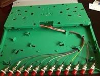 一体化熔纤盘odf盘 12芯束状尾纤法兰盘