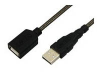优越者 高速 USB2.0延长线(AM-AF) 0.3米A公对A母