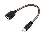 优越者 高速Mini USB2.0 数据线 OTG数据线