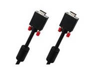 优越者 双磁环3C+6 VGA连接线 针/针 30米