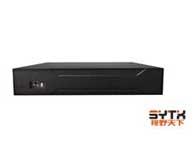 视野天下 SYTX-1004NVR1)视频通道:4路1080P或者4路720P IPC输入,支持Onvif;2)音频通道:1路RCA对讲,1路RCA音频输出;3)支持的录像分辨率:4路720P或者4路1080P;4)回放通道数:4路720P或者1路1080P;5)支持SATA硬盘数量:1;6)标配:鼠标、USB×3、网络、VGA、HDMI接口;7)尺寸/重量:260mm