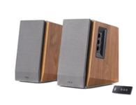 漫步者R1600TIII   音箱类型:电脑音箱 音箱系统:2.0声道 额定功率:60W 扬声器单元:2x4英寸 调节方式:旋纽,遥控 有源无源:有源 频率响应:30Hz-20KHz