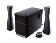 漫步者e3200  音箱类型:电脑音箱 音箱系统:2.1声道 额定功率:34W 扬声器单元:5.5英寸 调节方式:线控 有源无源:有源