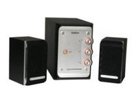 漫步者e3100   音箱类型:电脑音箱 音箱系统:2.1声道 额定功率:28W 扬声器单元:5英寸+2x3英寸 调节方式:旋纽 有源无源:有源 频率响应:20Hz-20KHz