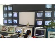 安华18+1电视墙