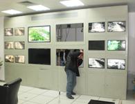 安华9+4电视墙