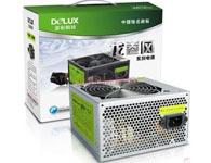 多彩(Delux)额定230W 电源 DLP-360A静音版 (12cm静音风扇)