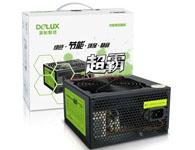 多彩(Delux)额定270W 电源 DLP-410A 至尊版 (支持背线 超静音风扇)黑色