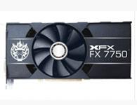 讯景  HD7750 魔神 芯片厂商:AMD 显卡芯片:Radeon HD 7750 显存容量:1024MB GDDR5 显存位宽:128bit 核心频率:1000MHz 显存频率:5000MHz