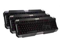 火力王G200 键冒发光键盘 红/蓝/粉三色 自由调节,游戏发光键盘