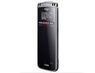 爱国者超薄专业学习型R5530    超薄6毫米 锂电 TF扩展最大支持16G 内置专业高灵敏立体双麦克,全方位采集音源,微弱声音也能清晰捕捉 2. OLED中文汉字显示屏,实时显示录音信息,清晰显示录音时间和文件名称等信息; 3. 超薄复合材质机身设计,仅6.6mm的厚度,手感出色,内置机身背夹,方便携带; 4. 独立按钮,智能分段录音功能,方便后期整理时查找重点部 5. MPS格式录音,支持PCM, 采用专业录音DSP芯片,内置数字降噪技术;