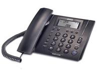 步步高来电显示有绳电话HCD007(113)TSD步步高来电显示有绳电话HCD007(113)TSD 工作频率: 2.4GHz 话机铃声: 14种和弦铃声,1种普通铃声 号码存储: 30组来电,10组去电存贮40组贵宾存储 屏幕显示: 显示屏5级亮度调节,有夜光功能 主要功能: 时钟,日期,液显,闪断,机械锁,IP速拨,机械锁,语音报号