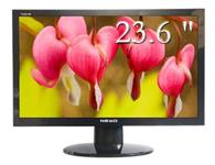 纽索TG2456W  尺寸:23.6英寸  屏幕比例:16:9 接口类型:15针 D-Sub(VGA),24针 DVI-D   面板类型:TN   点距:0.276mm   分辨率:1920×1080
