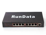 8+1 端口 100M  POE 交换机 PS1082   背板带宽:1.8Gbps 第九口为1000M网口; IEEE802.af POE 协议;数据和电源传输距离为100M