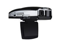 征服者 GPS Q3 GPS雷达+行车影像记录器  具有1080P 15FPS高画质分辨率。采用先进的H.264 影像压缩技术。拍照可高达500万画素四倍数码变焦,范围12公分到无限远2寸高清LCD,可以边录影边看