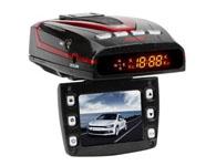 征服者 A5 GPS影像记录一体机  先进的H.264影像压缩技术1920*1080高清视频1200万像素4倍数码变焦WDR宽动态120度超广角停车监控移动侦测录像