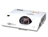 日立投影机HCP-Q86日立投影机HCP-Q86  亮度:3200  分辨率:1024*768  对比度:3000:1  75cm打80寸,待机功率小于0.35W,双重静电过滤网,HDMI,RJ45,S端子,复合视频,USB显示