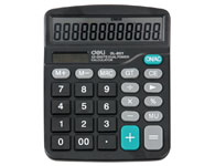 得力837计算器 太阳能计算器太阳能计算器,商务型,简洁方便