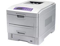 映美LP-C2024映美LP-C2024 彩色激打 黑白打印速度:24页/分钟 最高分辨率:600x1200dpi 耗材类型:每种色彩的墨粉可以5%的覆盖率打印10,000A4纸9(打印机附带的墨盒可以5%的覆盖率打印5,000A4纸) 预热时间:90秒 首页打印时间:彩色打印12秒;单色打印10秒 月打印负荷:50000页/月