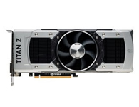 索泰GTX TITAN Z 极速版 HA   显卡芯片: GeForce GTX Titan Z  核心频率: 705/876MHz  显存频率: 7000MHz  显存容量: 12288MB  显存位宽: 768bit