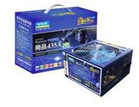 辛巴达尚品400L 12CM双滚珠、温控、智能、蓝色防火风扇