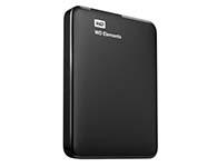 西部数据(WD) Elements 新元素系列 2.5英寸 USB3.0 移动硬盘 2TB(WDBU6Y0020BBK)