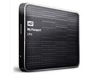 西部数据(WD) My Passport Ultra USB3.0 1TB 超便携移动硬盘 (黑色)WDBZFP0010BBK