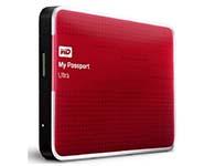 西部数据(WD) My Passport Ultra USB3.0 2TB 超便携移动硬盘 (红色)WDBMWV0020BRD
