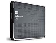 西部数据(WD) My Passport Ultra USB3.0 1TB 超便携移动硬盘 (钛)WDBZFP0010BTT