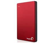 希捷(Seagate) Backup Plus睿品(升级版)1T 2.5英寸 USB3.0移动硬盘 丝绸红(STDR1000303)