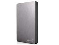希捷(Seagate) Backup Plus睿品(升级版) 2T 2.5英寸 USB3.0移动硬盘 钛金灰(STDR2000301)