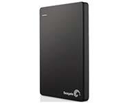 希捷(Seagate) Backup Plus睿品(升级版) 1T 2.5英寸 USB3.0移动硬盘 陨石黑(STDR1000300)