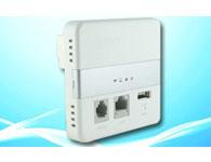 WAP-3083运营级入墙式无线AP,150Mbps无线速率,2.4GHz,标准86线盒尺寸,卡线式外线接入,网络、电话线二合一;结合维盟智慧WiFi网关,有效实现对区域内各分布AP的集中统一管理及云平台增值运营; 提供1个标准USB充电口,可为用户手机等终端充电;支持标准POE或外置电源双模式供电方式。