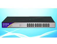 WS1224G高性能、高带宽企业级全千兆绿色节能无管理型以太网交换机,24个10/100/1000Base-T端口,23/24口固定汇聚端口,背板带宽48Gbps。