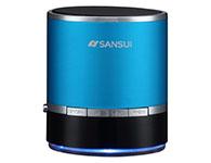 山水(SANSUI) E17蓝牙音箱带插卡收音机MP3播放器手机平板外放小音箱小音响 蓝色