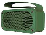 山水(SANSUI) E33 户外无线NFC蓝牙音响插卡迷你音箱便携式防摔防尘低音炮 军绿色
