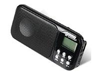 山水(SANSUI)A47 迷你小音响便携老人收音机mp3插卡音箱播放器 黑色